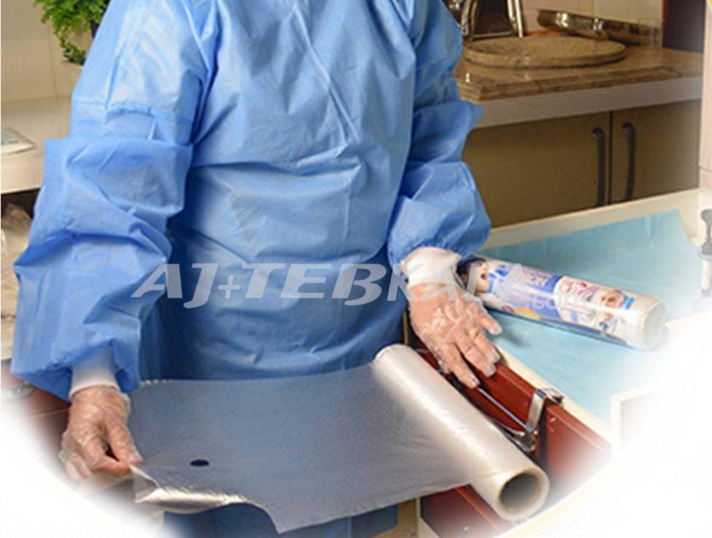 پیش بند دندانپزشکی رولی آنتی باکتریال
